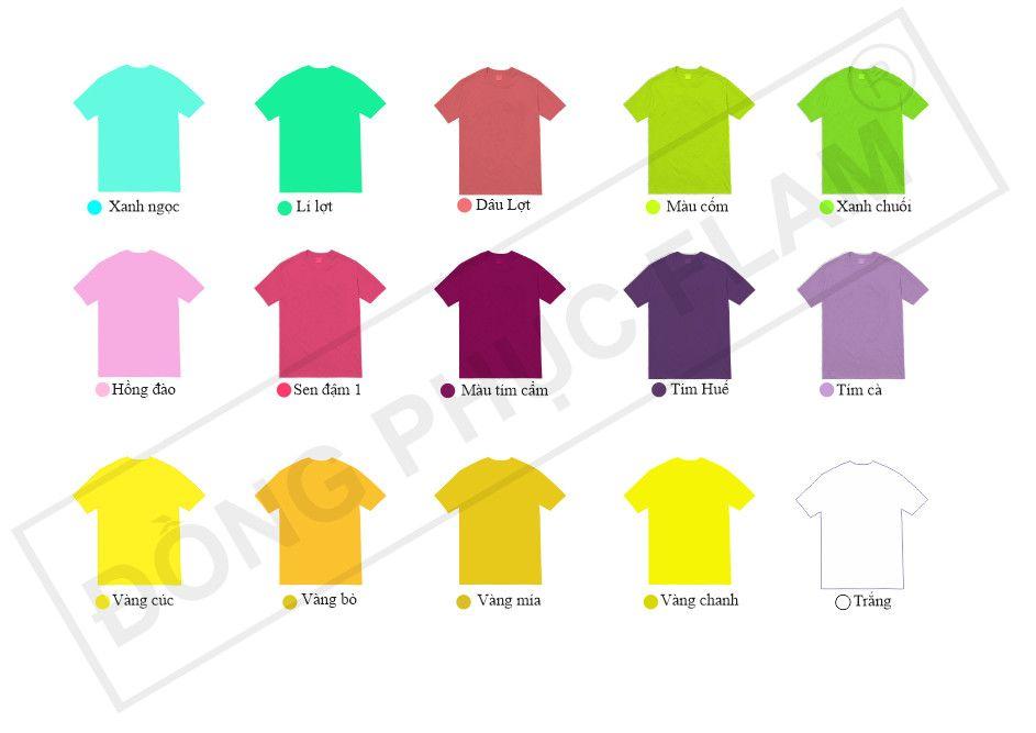 Màu áo lớp cho nữ